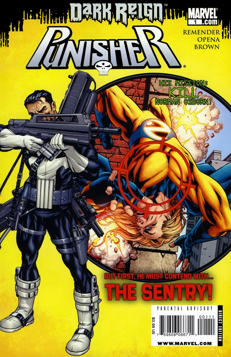 The Punisher vs. The Sentry (Dark Reign)