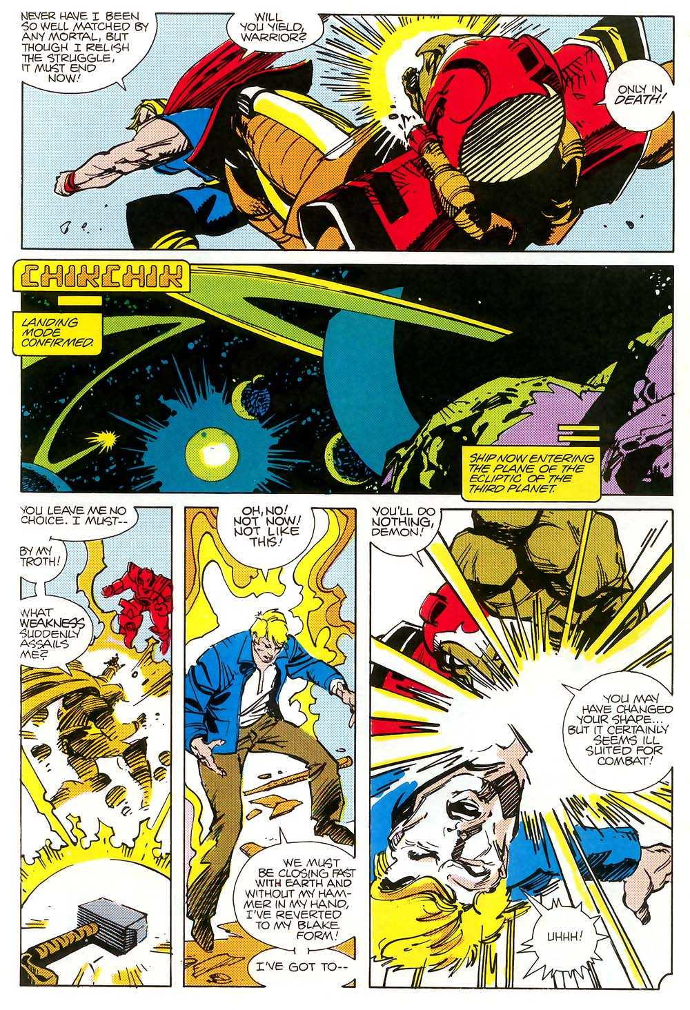 thor vs beta ray bill