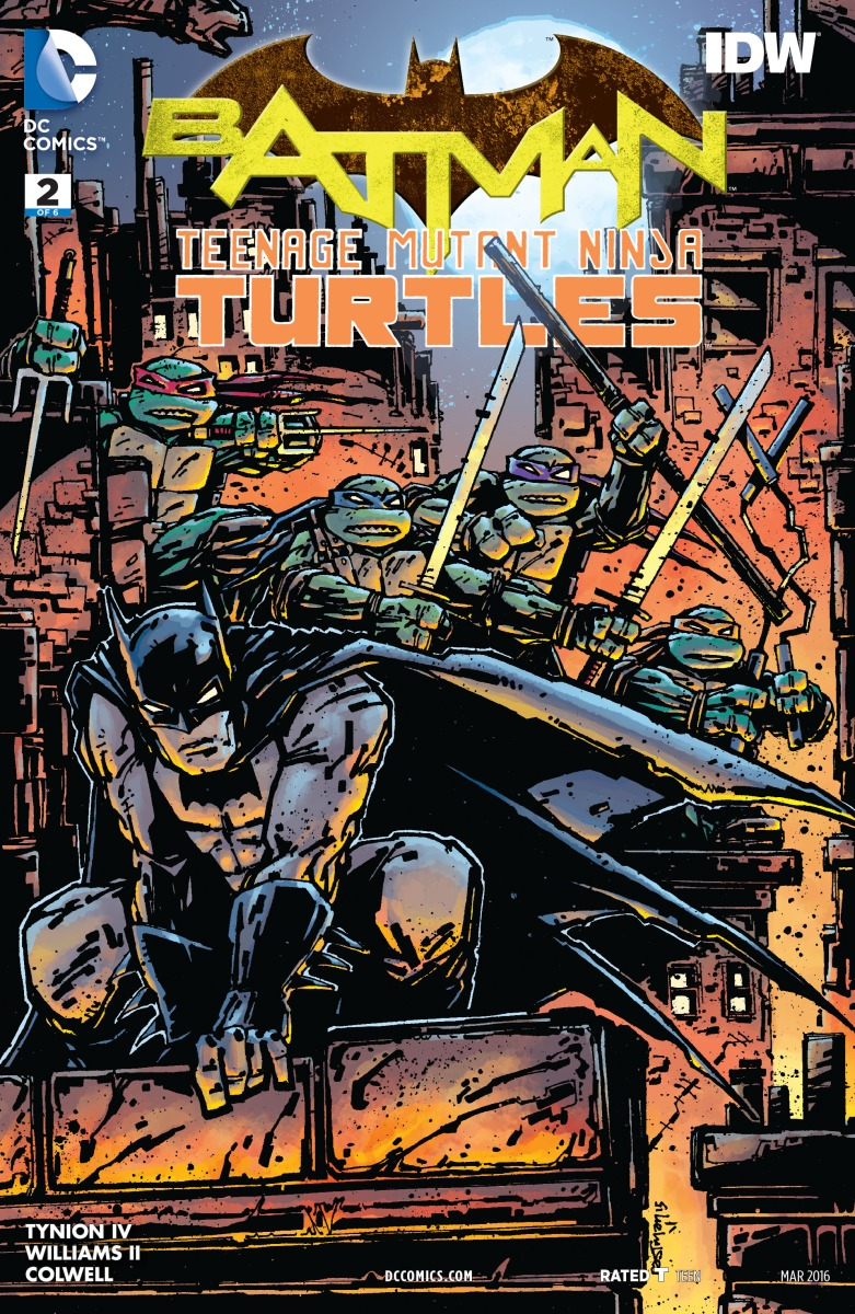 Batman vs. The Teenage Mutant Ninja Turtles