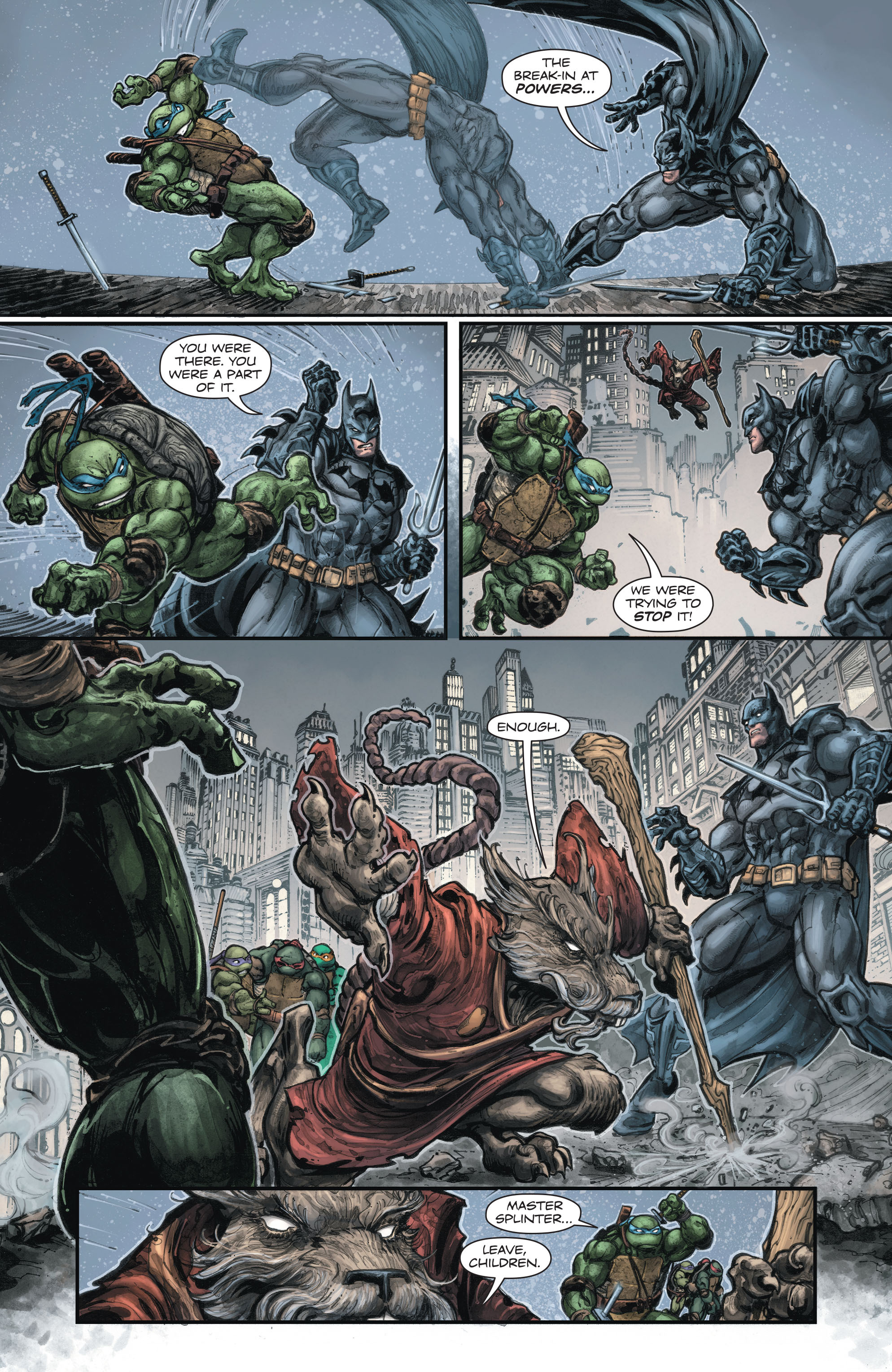 Batman-Teenage Mutant Ninja Turtles (2015-) 002-009