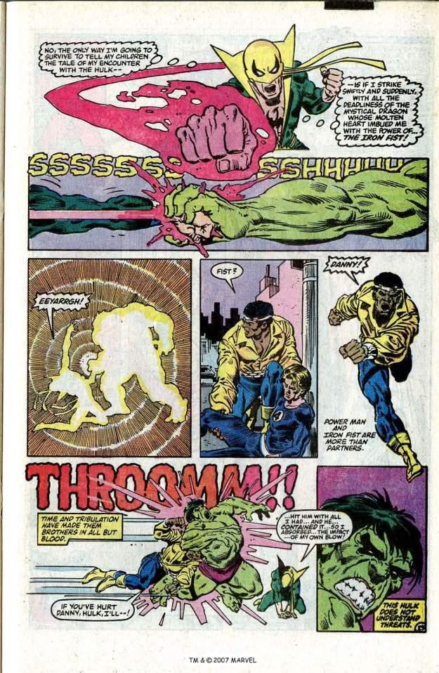 Hulk vs. Iron Fist