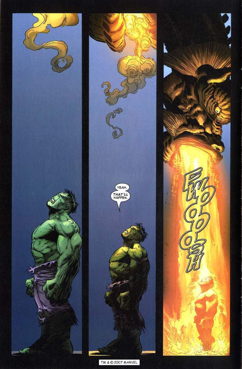 How strong is the Hulk? Hulk survives the breath of Fin Fang Foom! (Hulk vs. Fin Fang Foom)