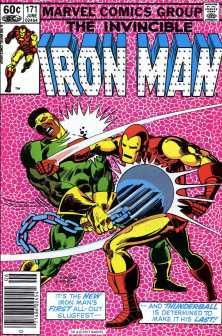 invincible iron man #171