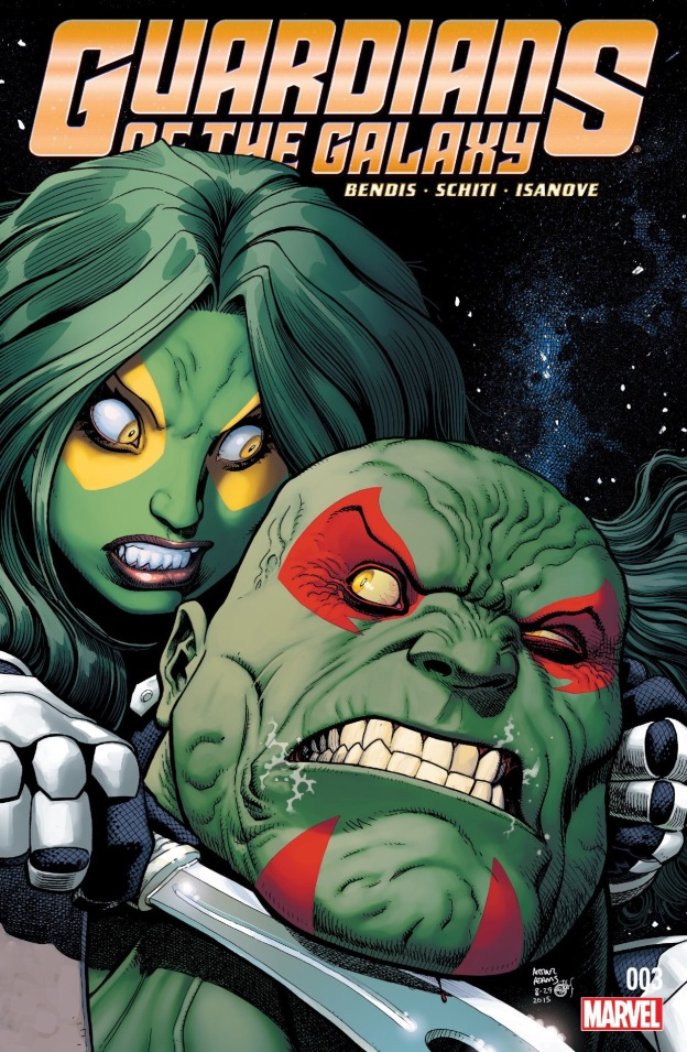gamora vs. drax