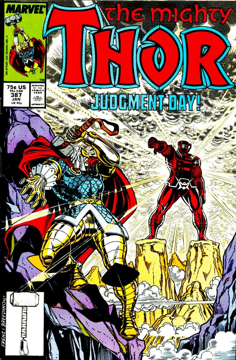 The Mighty Thor vs. The Celestial, Arishem the Judge (Part 1)