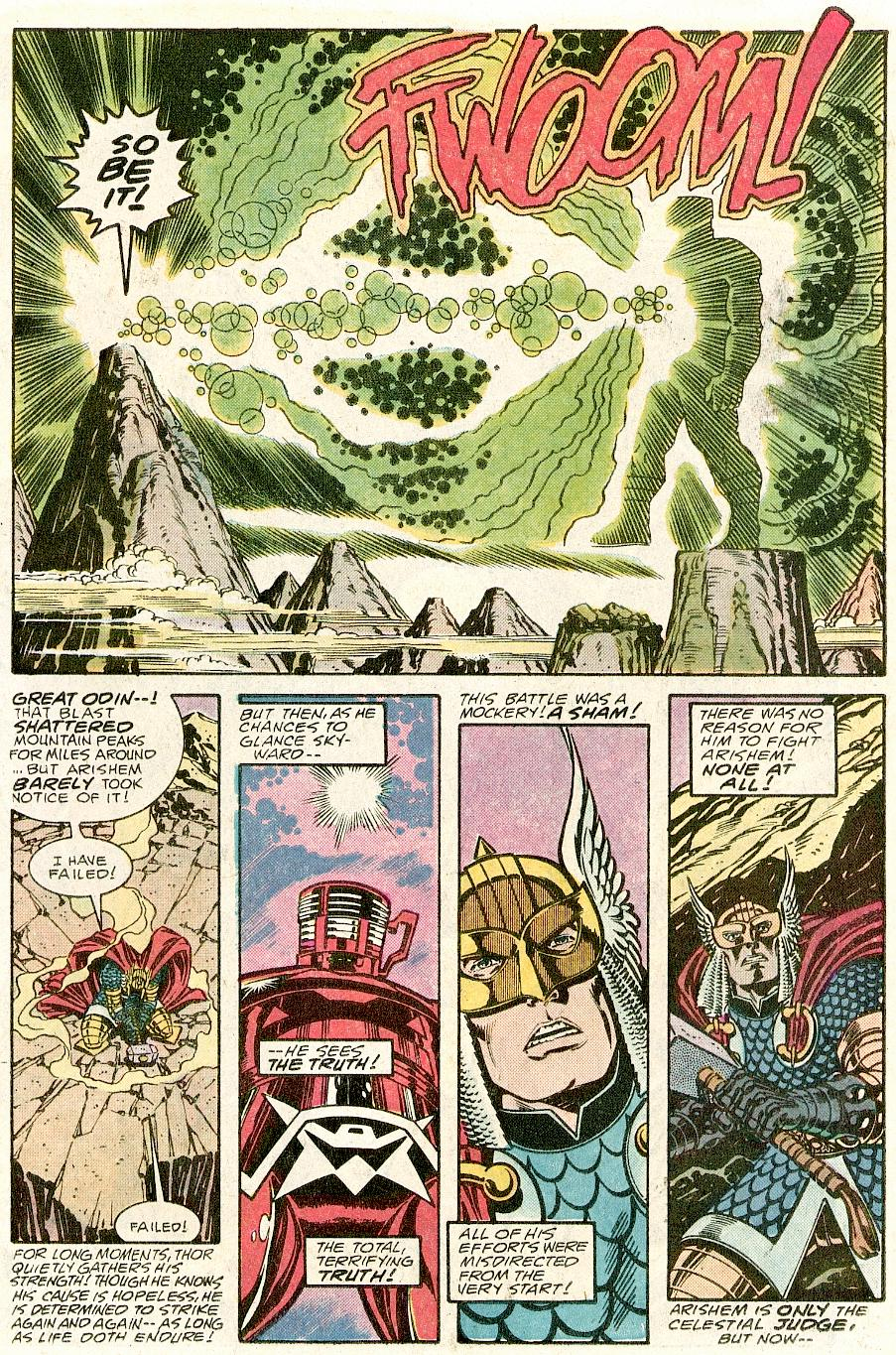 The Mighty Thor Vs The Celestial Arishem The Judge Part