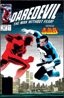 Daredevil, ThePunisher, John romita Jr.