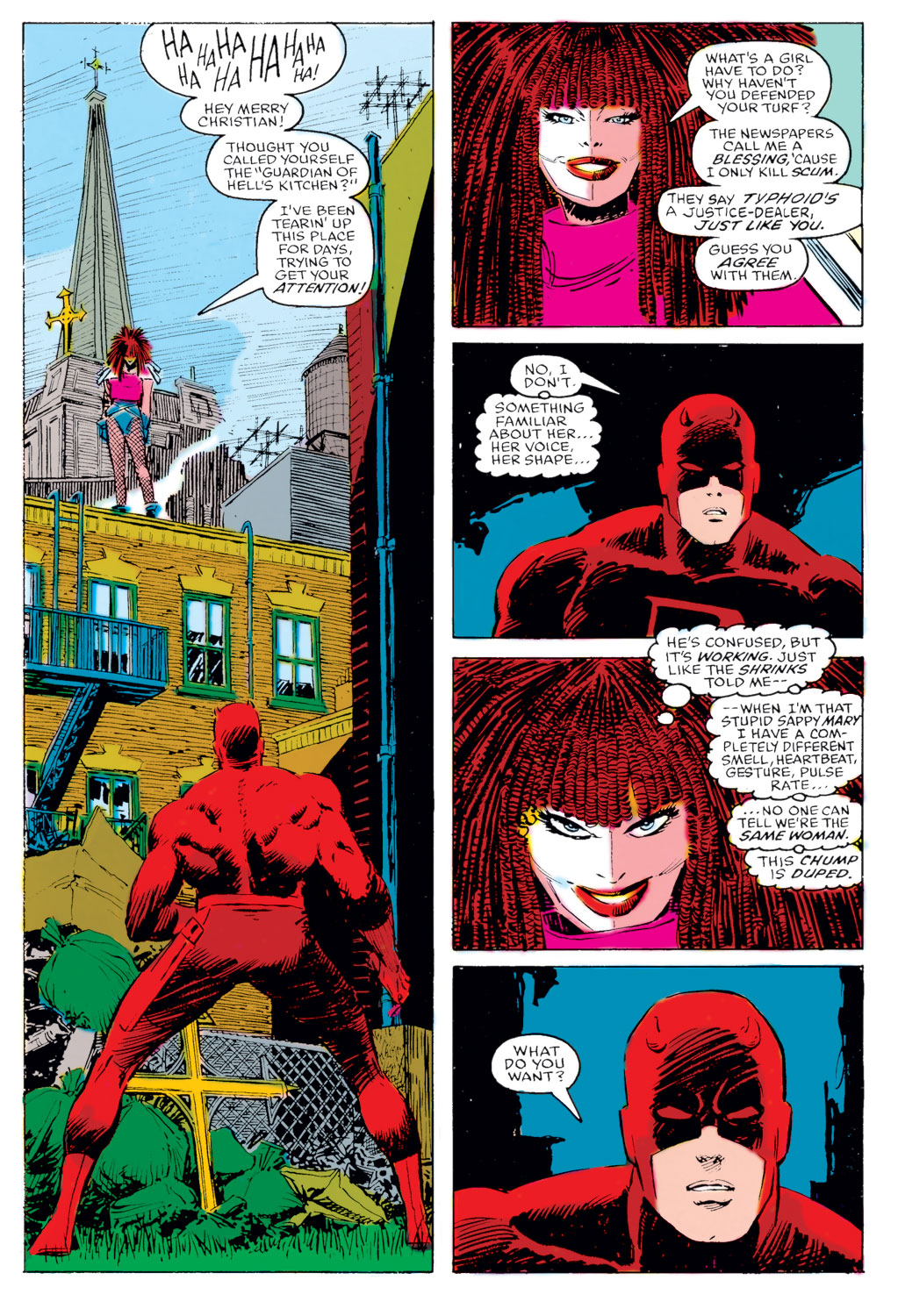 daredevil vs typhoid mary� a love story