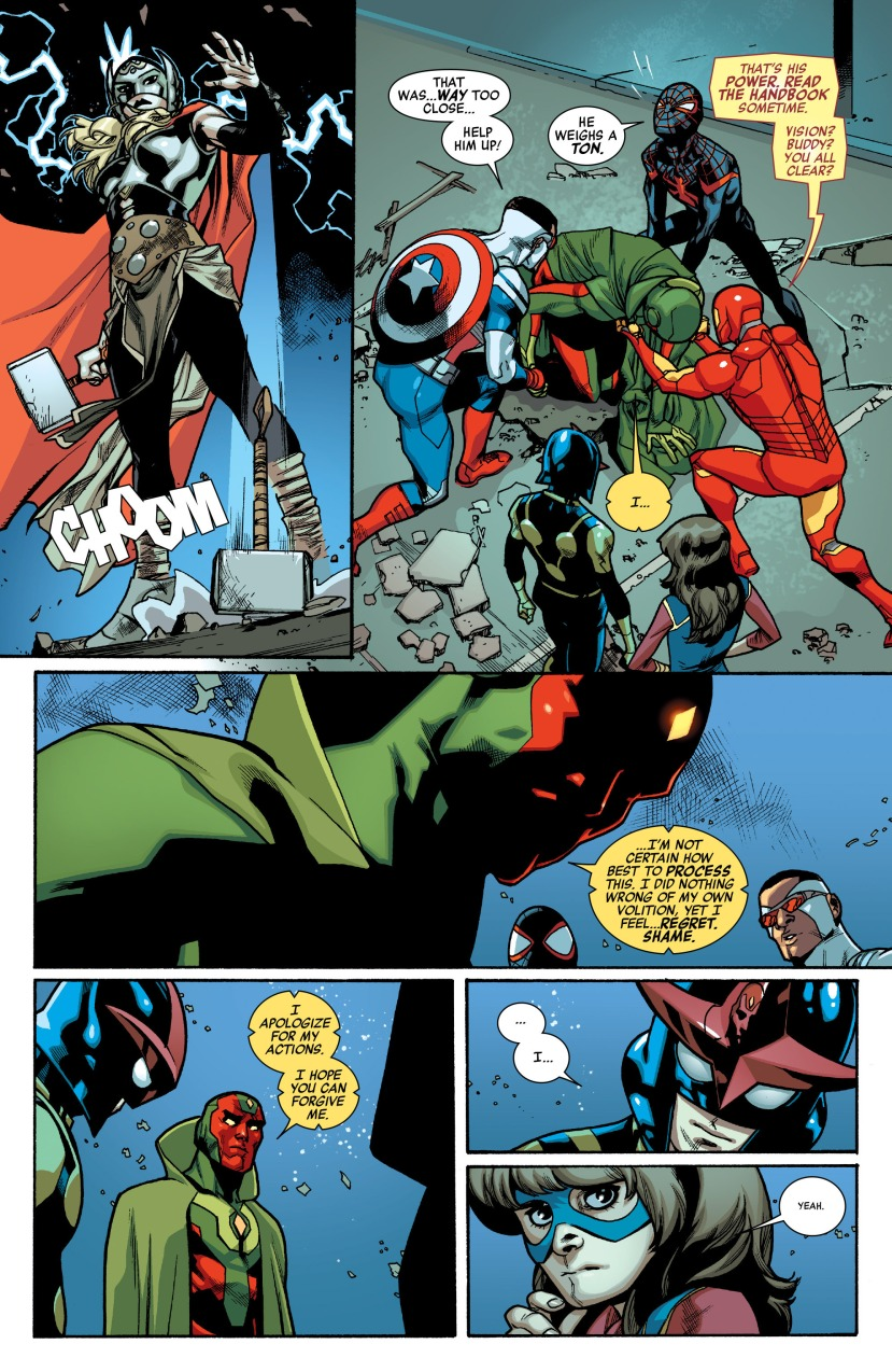 All-New, All-Different Avengers (2015-) 006-019