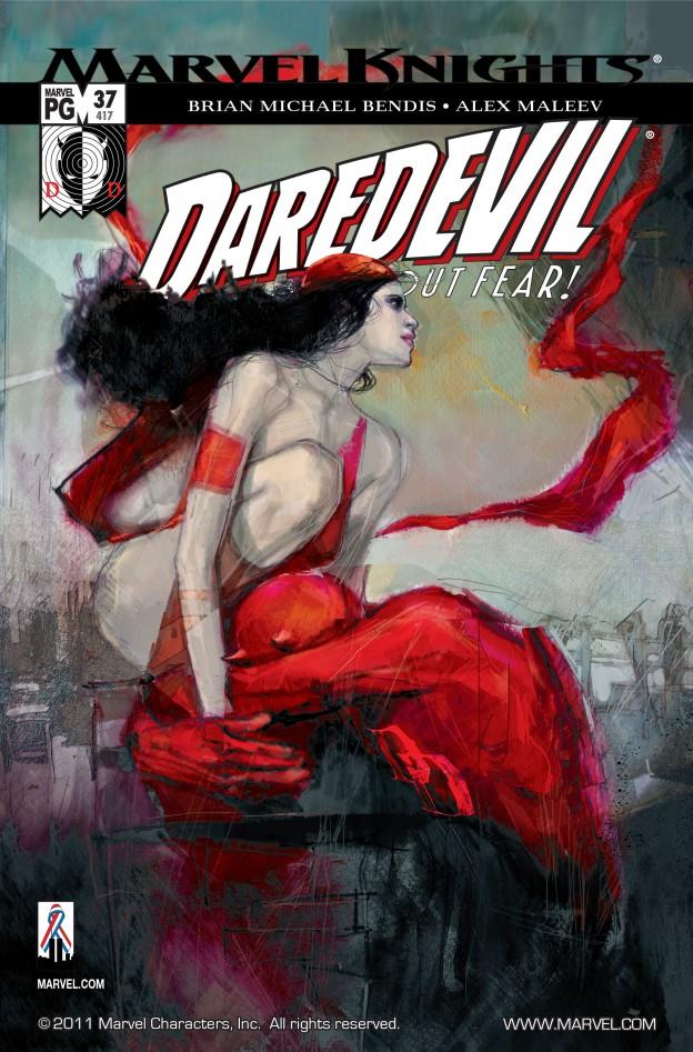 Daredevil vs. Elektra, Frank Miller, Elektra, Bullseye, Daredevil #