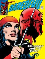 Daredevil vs. Elektra, Frank Miller, Elektra, Bullseye,Daredevil #179