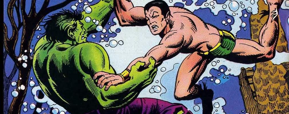 Incredible Hulk Sub-Mariner Namor