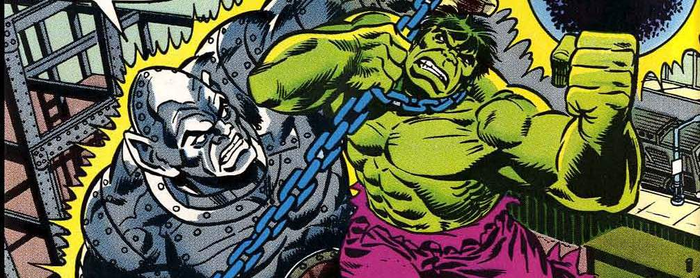 Incredible Hulk Absorbing Man