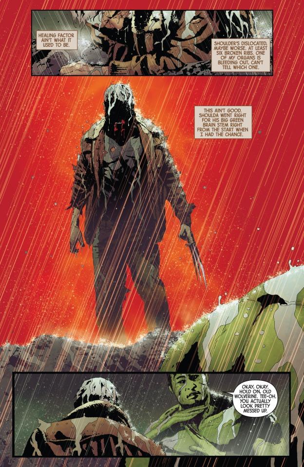 Old Man Logan #2, Totally Awesome Hulk