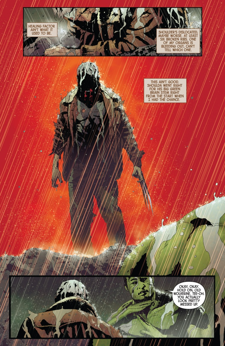 Old Man Logan vs. The Totally Awesome Hulk