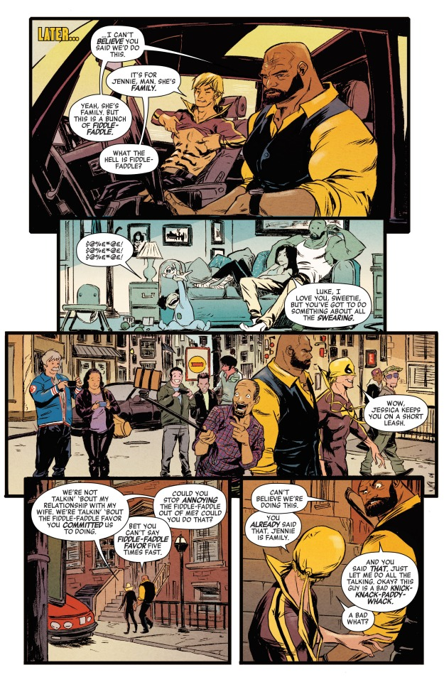 Power Man and Iron Fist (2016-) 001-008