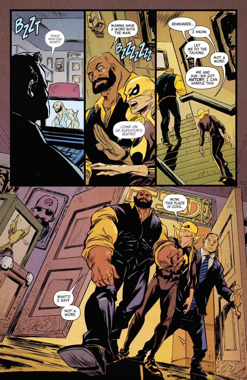Power Man and Iron Fist (2016-) 001-009