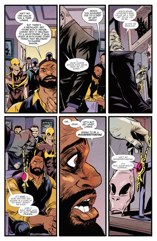 Power Man and Iron Fist (2016-) 001-011