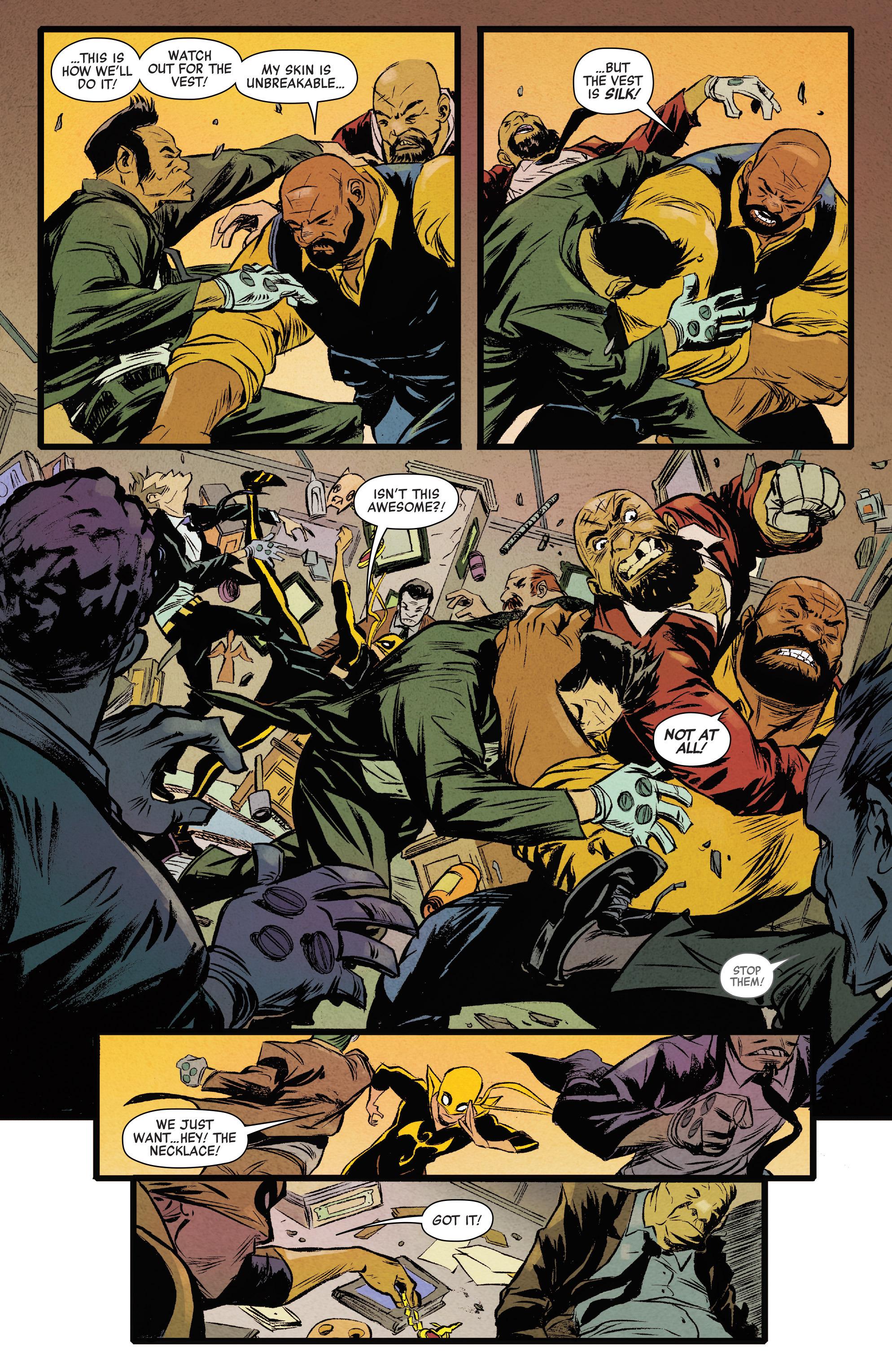 power man and iron fist comic - HD1000×1537
