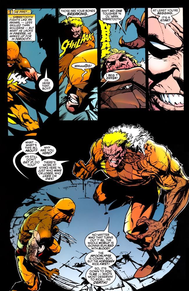 Wolverine v2 145 25 (1999) (4 Covers) (noads) (DarthMedio-ScanDog-DCP)