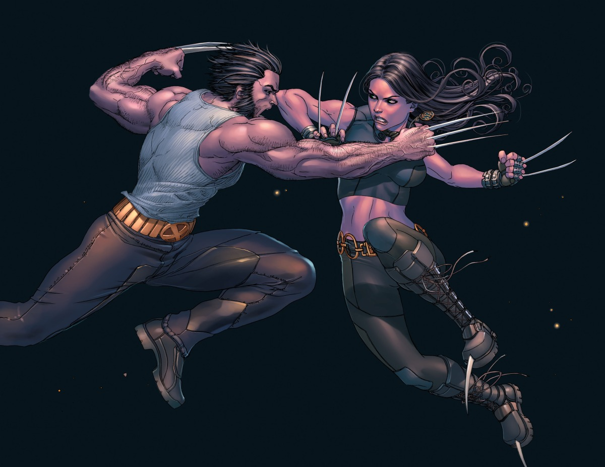 X-23 vs. Wolverine