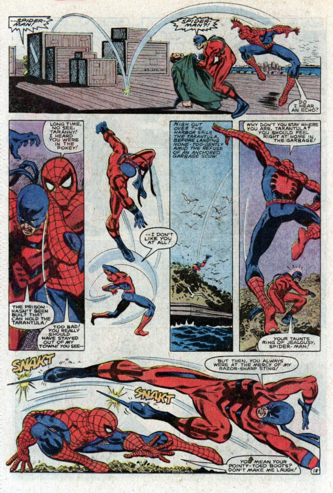 The Amazing Spider-Man vs. Tarantula