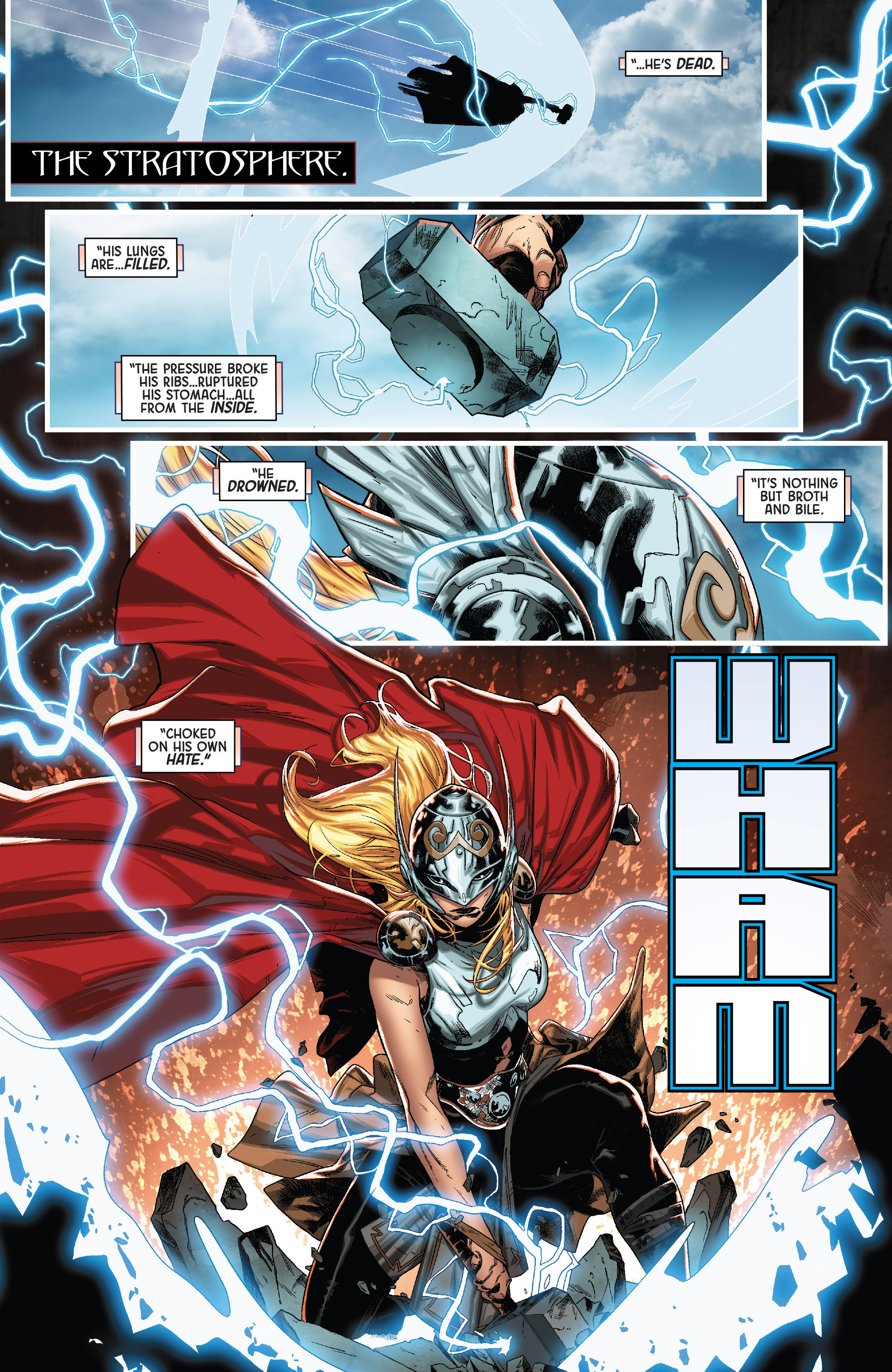 thor vs angela queen of hel