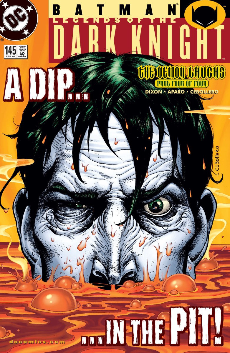 The Joker is rendered sane in The Lazarus Pit (Batman: Legends of The Dark Knight #145)