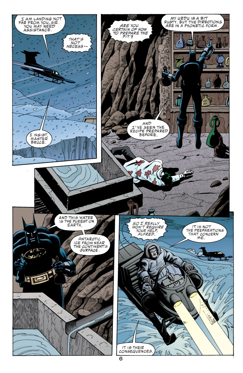 The Joker in the Lazarus Pit