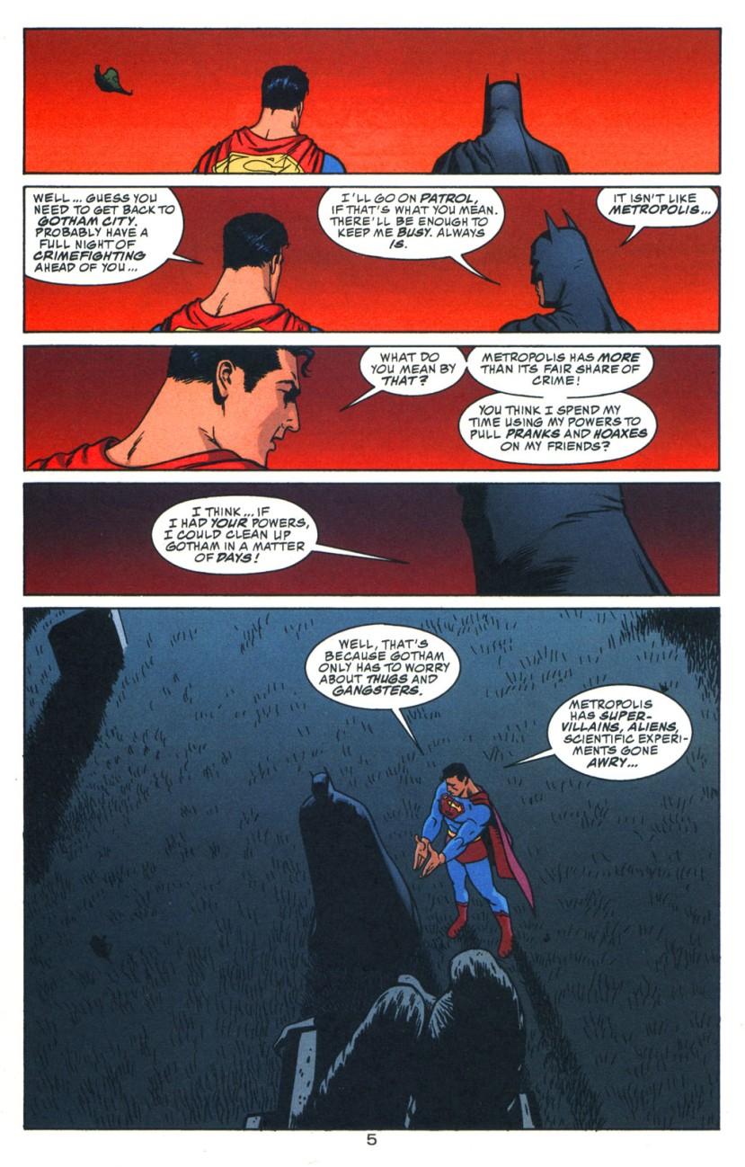 batman and superman in gotham city