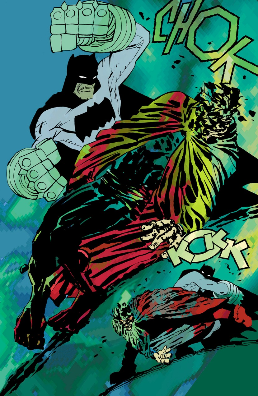 Batman vs. Superman The Dark Knight Strikes Again Frank Miller