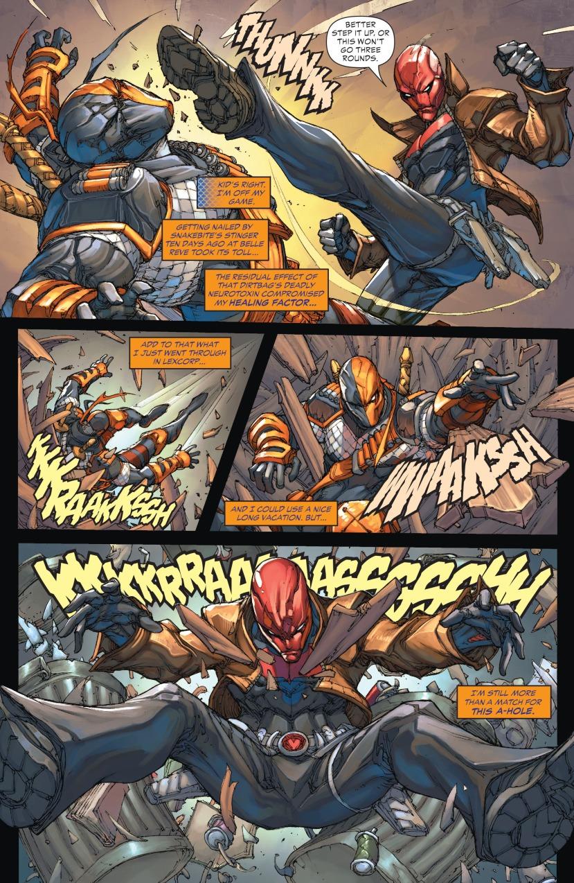 Deathstroke vs Red Hood