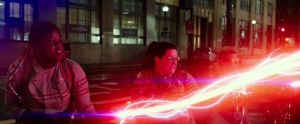 Ghostbusters 3 Melissa McCarthy Leslie Jones Kate McKinnon proton packs crossing the streams