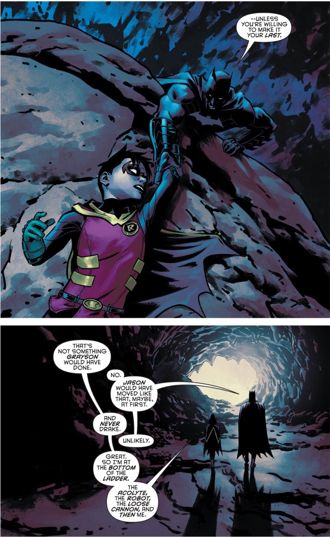 Batman Explains Previous Robins To Damian Batman Amp Robin
