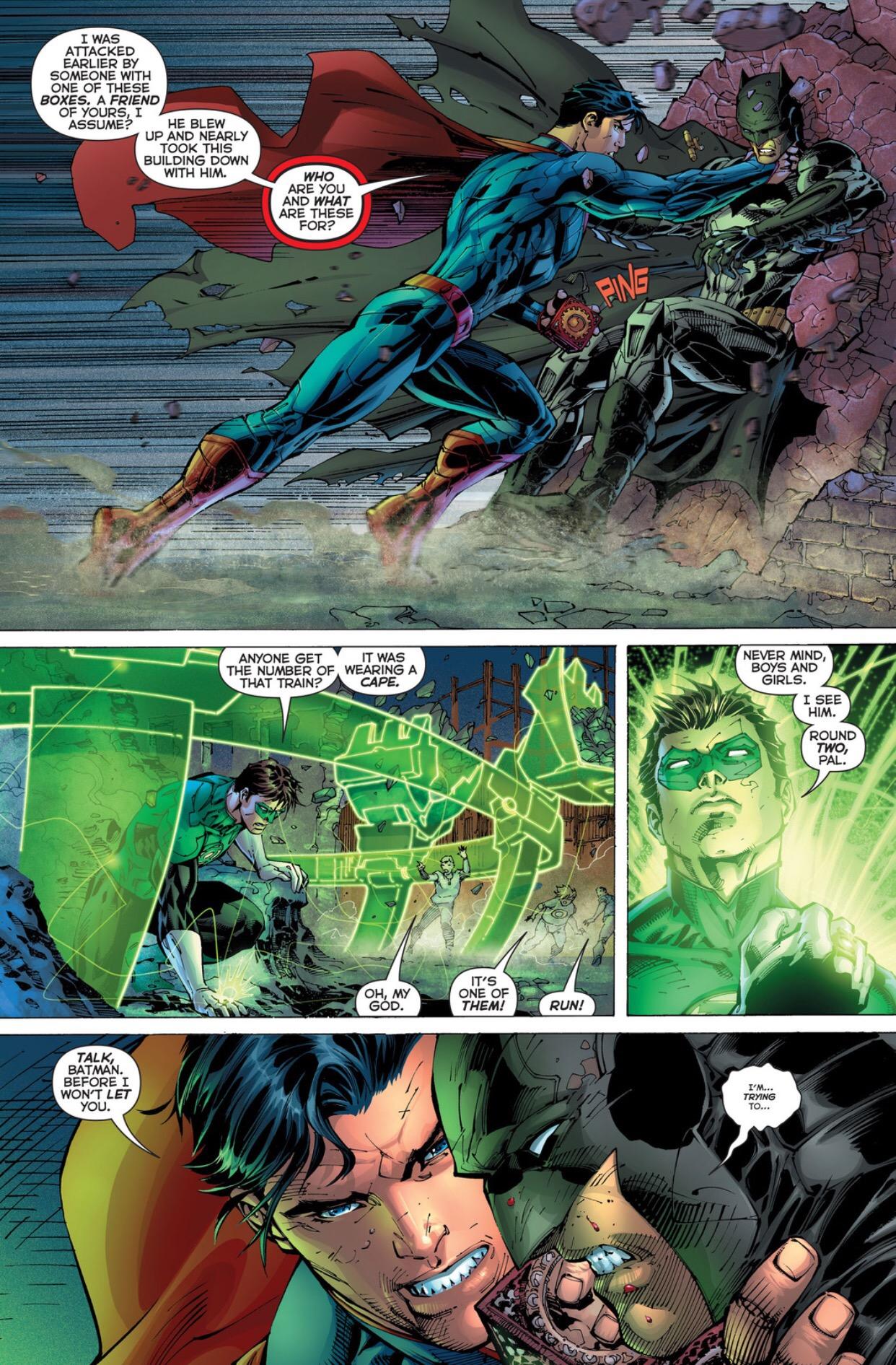 Batman & Green Lantern vs. Superman