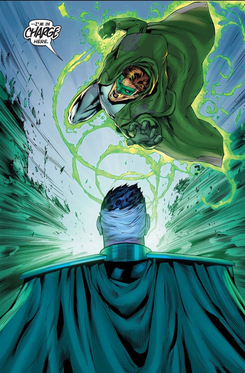 Hal Jordan vs. Parallax (Green Lantern #40)