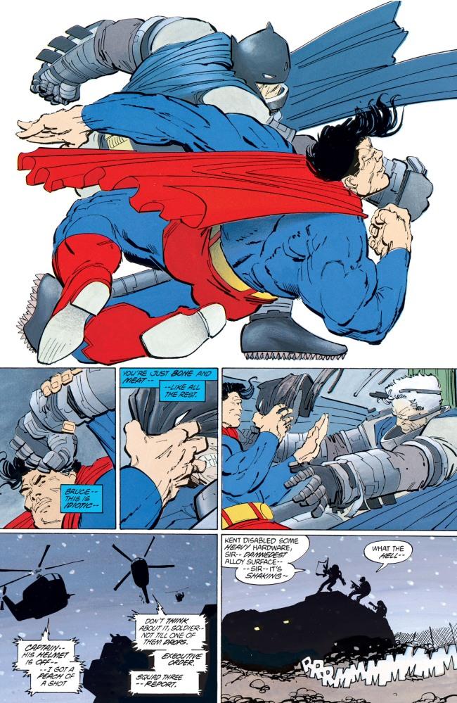 Batman vs. Superman The Dark Knight Returns Frank Miller
