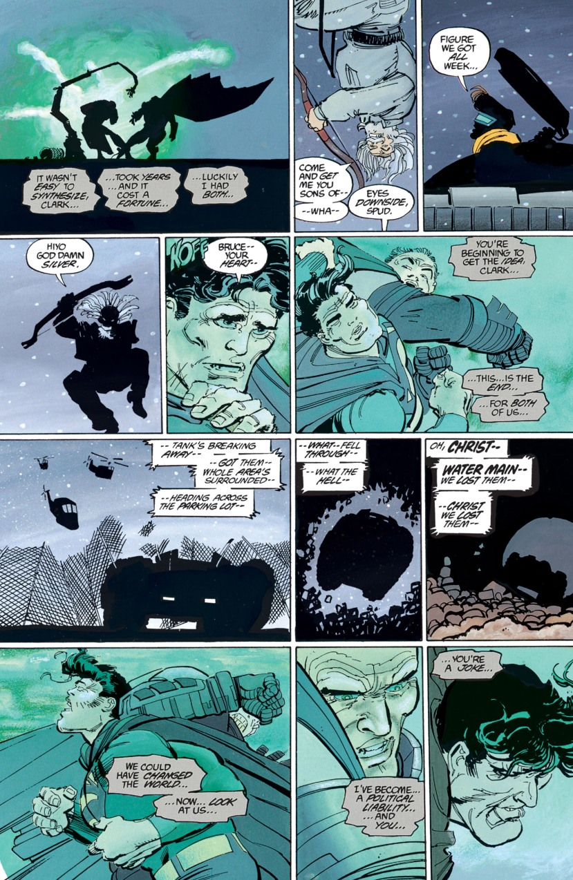 Batman vs. Superman The Dark Knight Returns Frank Miller