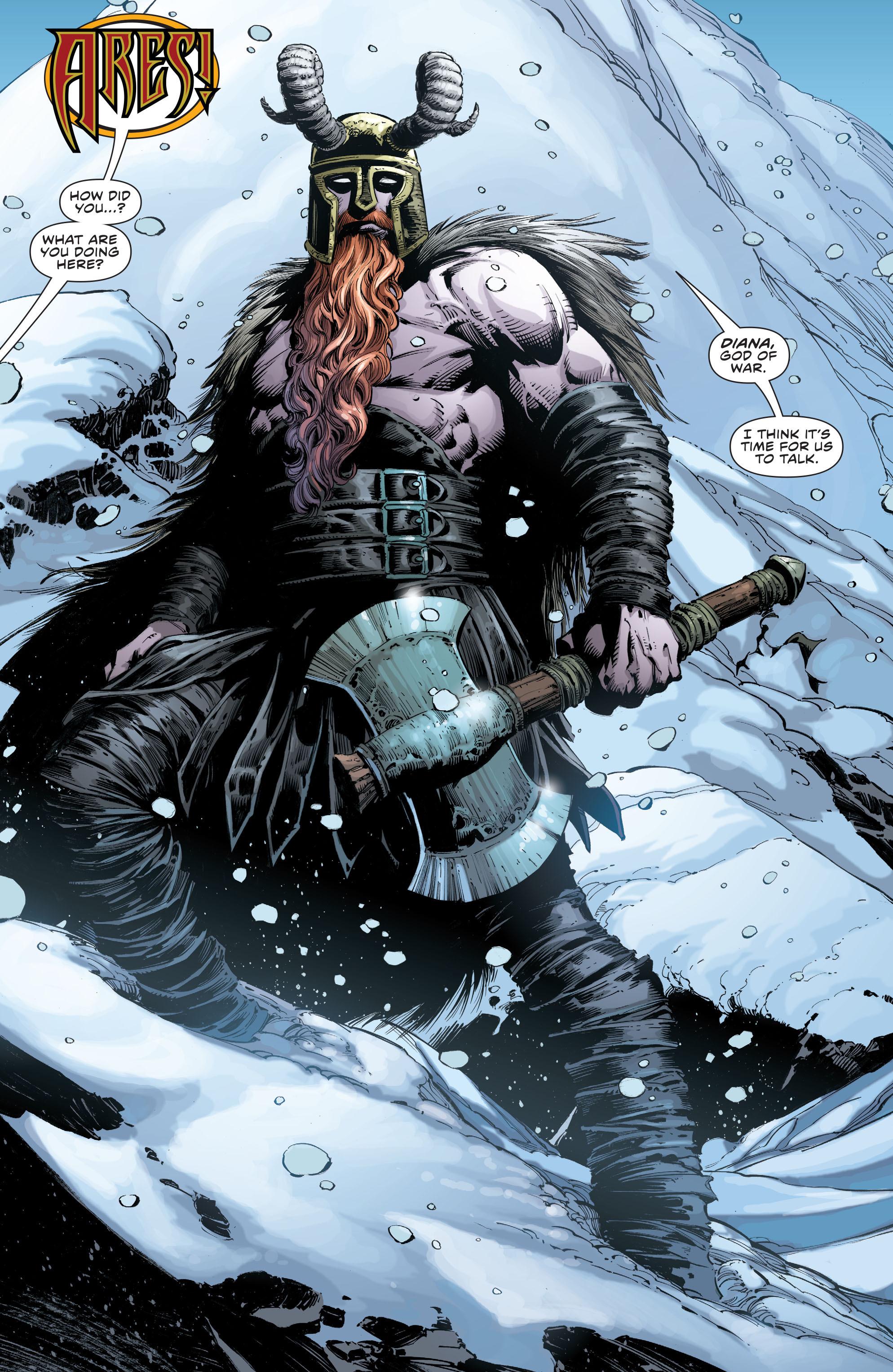 Ares musuh wonder woman