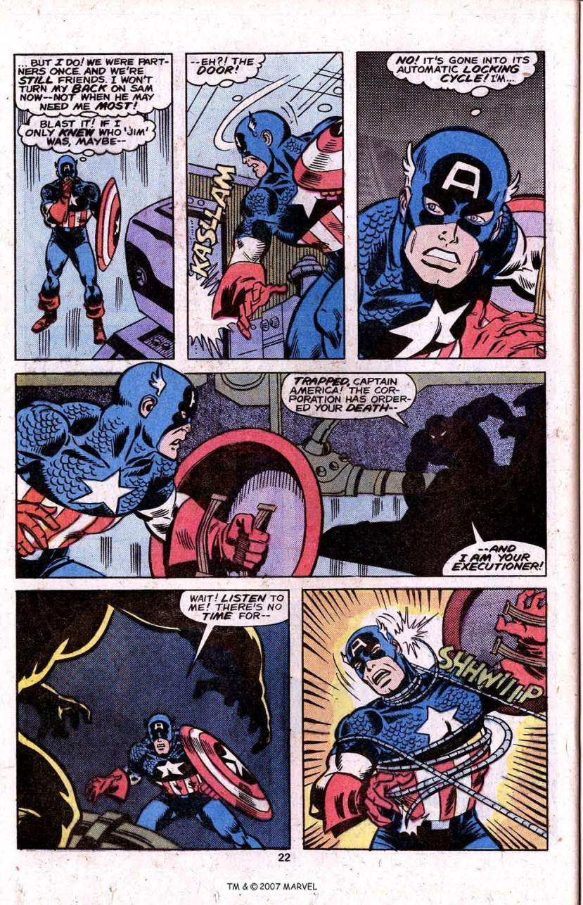 Captain America vs Constrictor