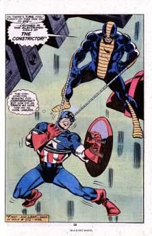 Captain America vs Constrictor
