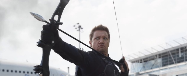 Captain America Civil War Hawkeye