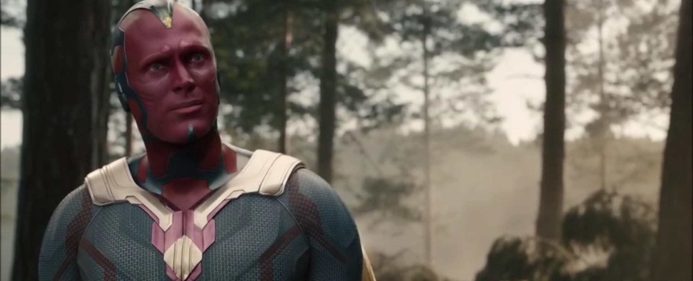 Captain America Civil War Vision