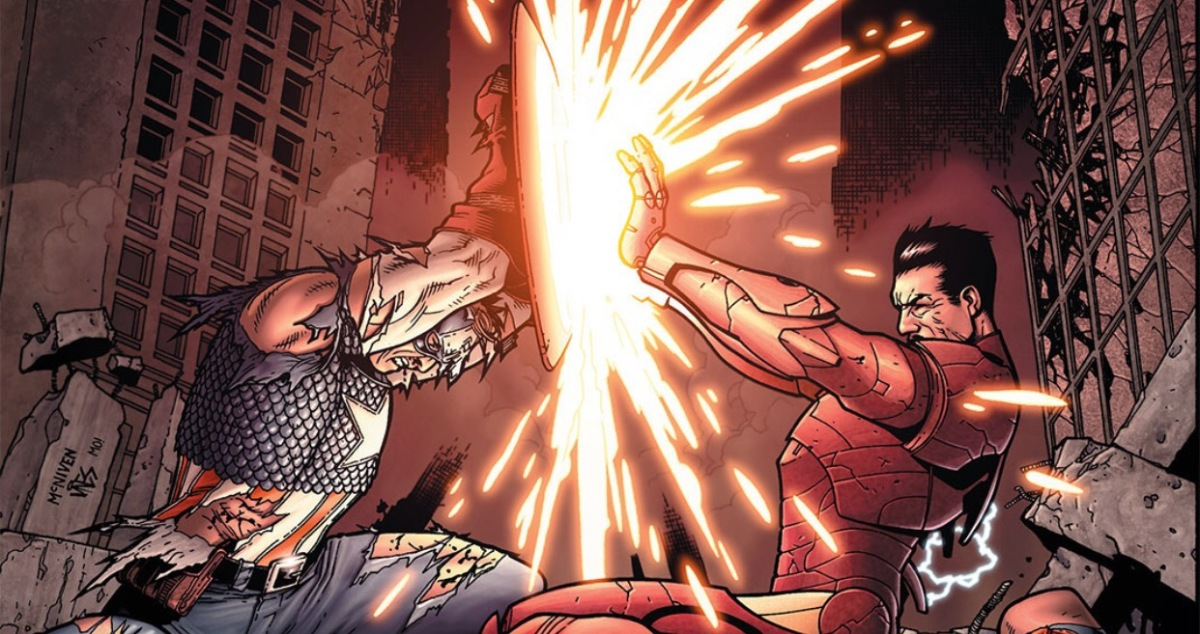 Captain America vs Iron Man: The Final Battle (Civil War)