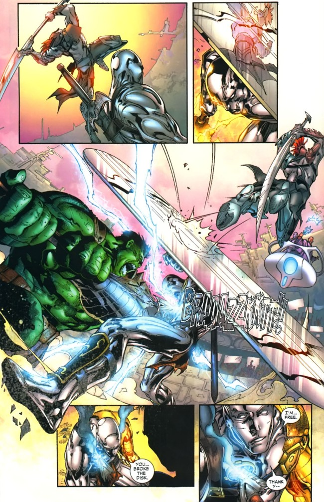 hulk fights silver surfer planet hulk
