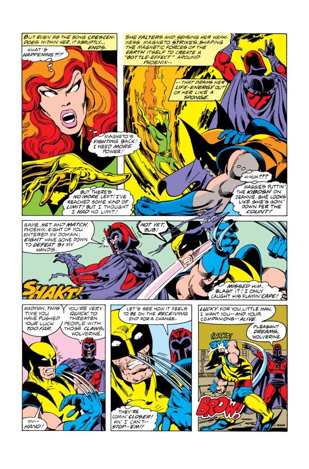 x-men fight magneto