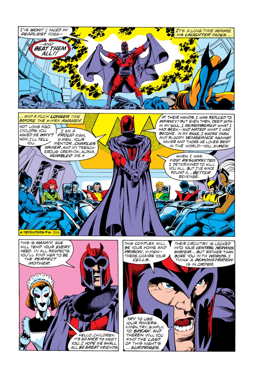 x-men fight magneto