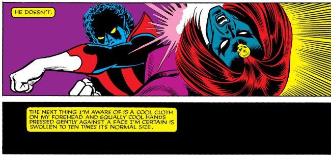 mystique fights x-men