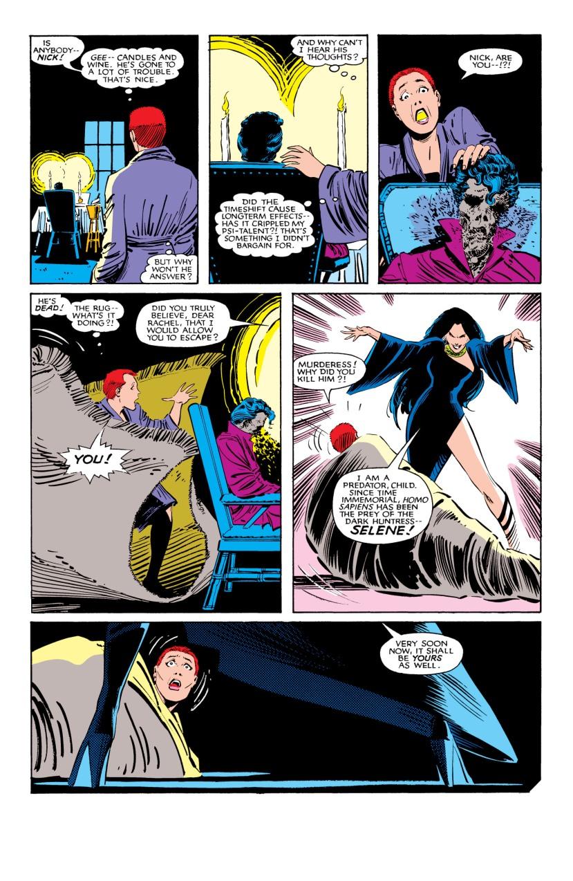 The Uncanny X-Men vs. Selene the Black Queen
