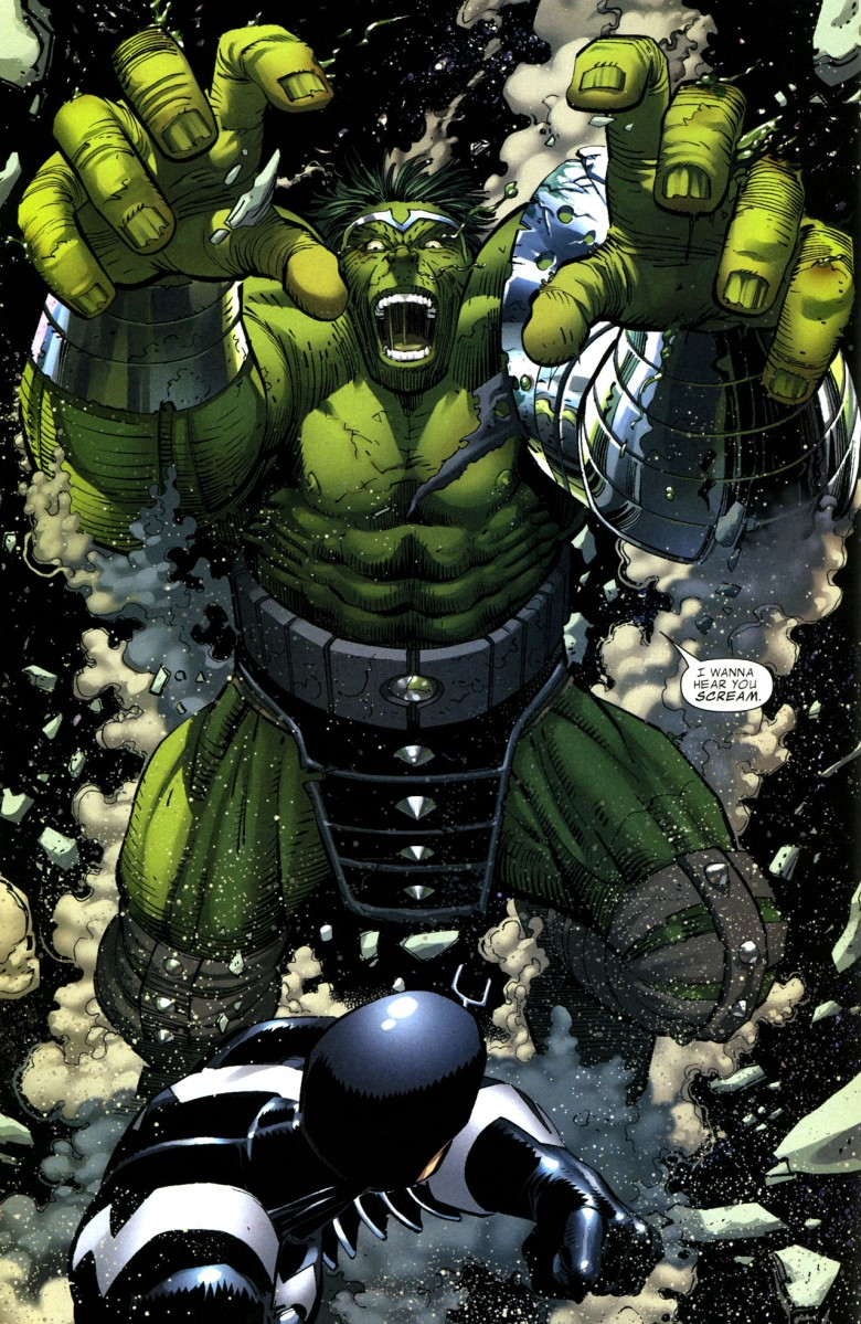 The Incredible Hulk vs. Black Bolt (World War Hulk)
